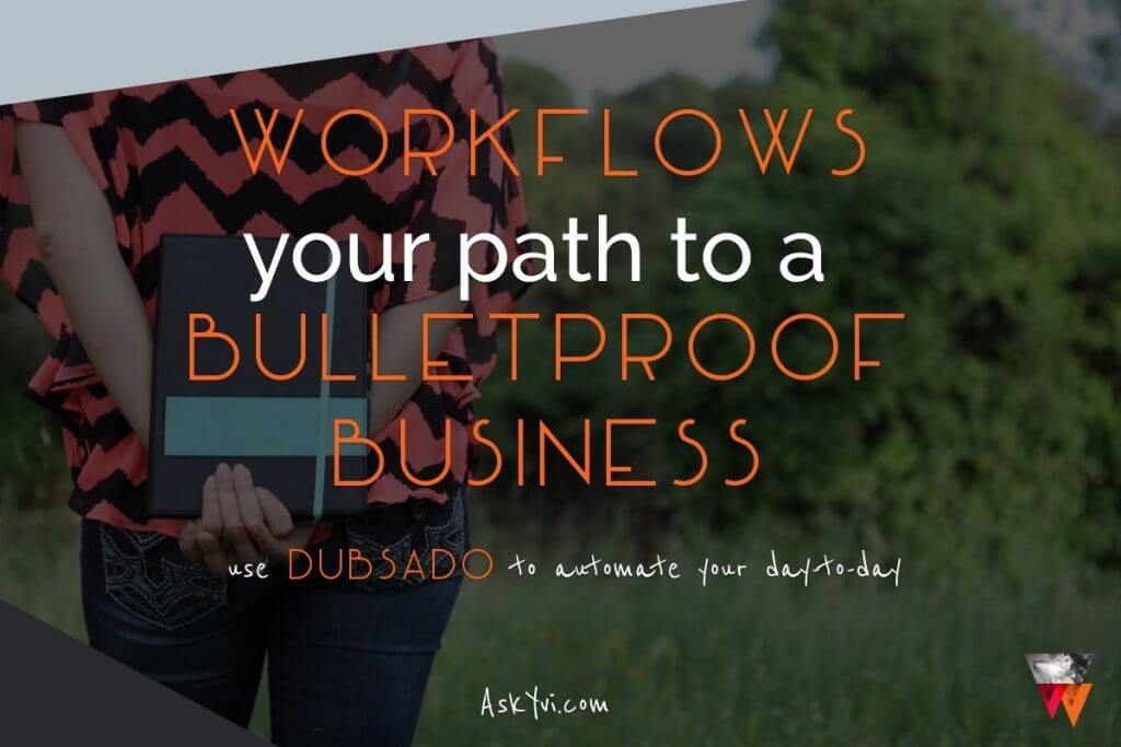What are Business Workflows and what does it mean to your Dubsado setup - AskYvi - Feat
