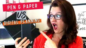 Paper vs Digital Planning