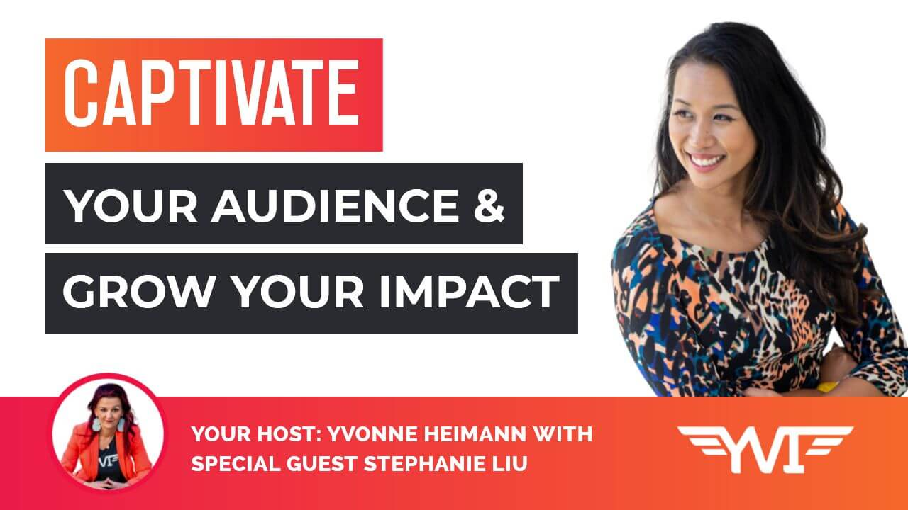 How to use NLP to increase your impact and influence within your space with Stephanie Liu