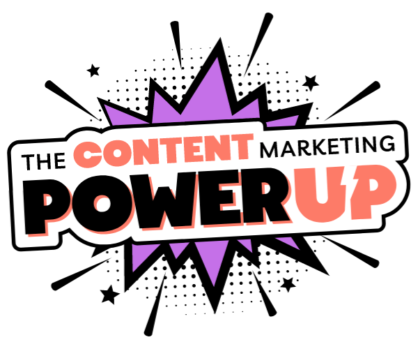 The Content Marketing POwer Up Logo